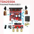Компьютера mega bass TDA2030A усилитель мощности пластина 2.1 3 трек закончил сабвуфер аудио усилитель мощности доска (готовой продукции)