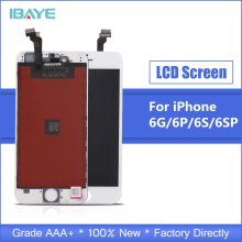 купить Grade AAA+++ For iPhone 6 6S Plus Screen LCD Touch Digitizer Assembly for iphone 6s Display No Dead Pixel Free Shipping дешево
