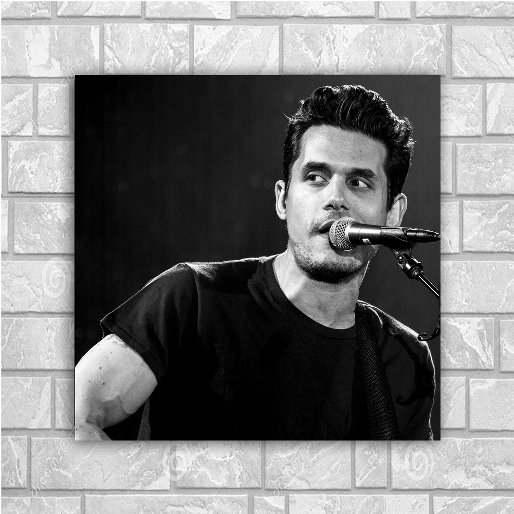 John Mayer Cool Painting: Aliexpress.com : Buy John Mayer Art Silk Poster Home Decor
