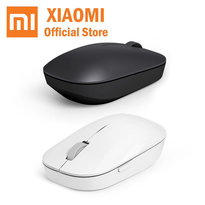 Xiaomi Portable Mouse Mice Notebook Laptop Computer White Original Mini Black