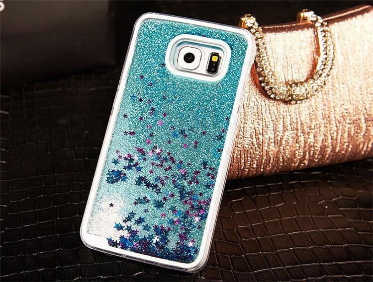 glitter samsung s6 edge case