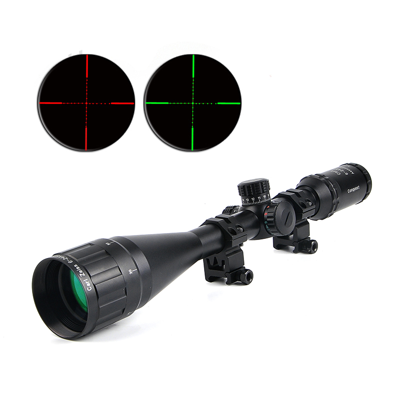 Carl ZEISS 6-24X50 Tactical Optical Riflescope Red and Green Illuminated Rifle Scope Optics Hunting Scopes for Airsoft Sniper carl zeiss touit 1 8 32