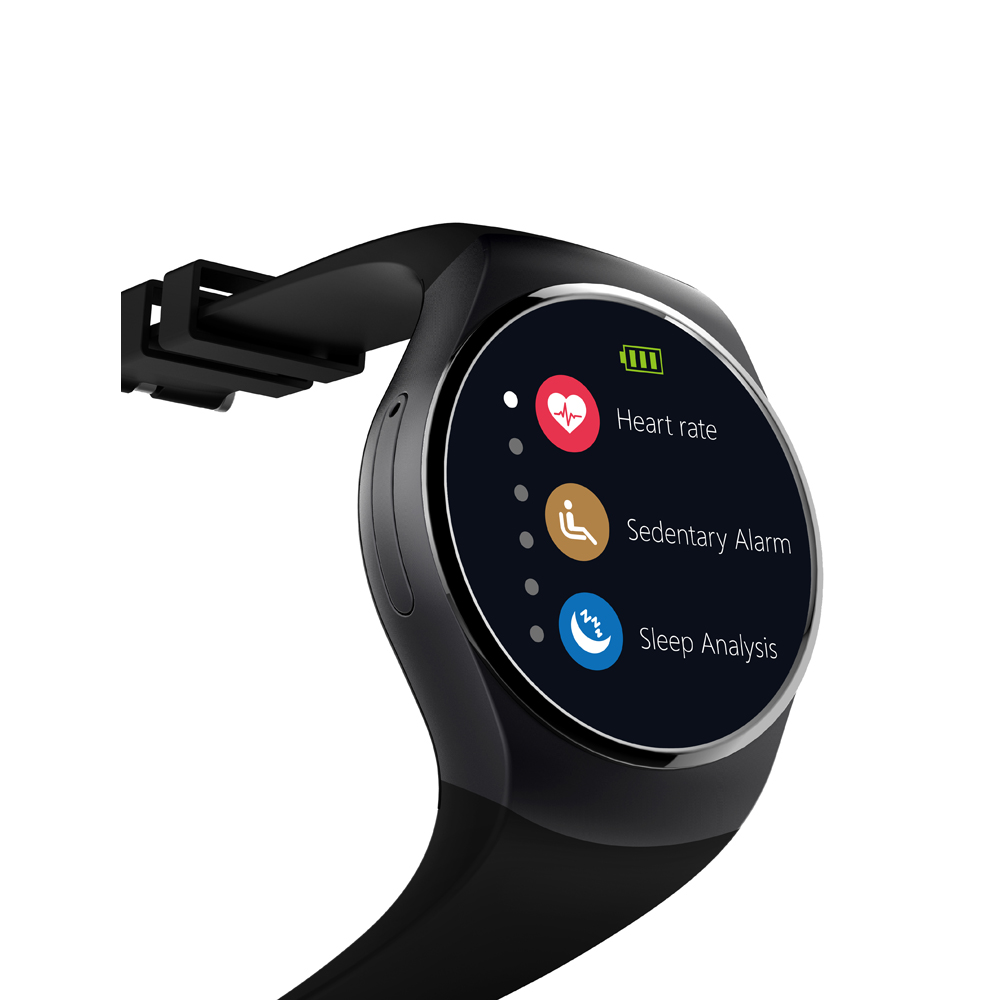 ФОТО Bluetooth smart watch sim card both for ios and Android waterproof for daily smartwatch pk dz09 u8 2016 high quality KW18