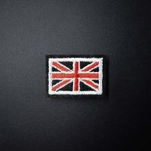 6e5b1f8b9bf1 Британский флаг (Размеры: 2,5x3,5 см) DIY матерчатые нашивки починить  украсить патч джинсы для женщин Сумка Одежда Вышивание укр.