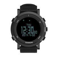 3ATM Waterproof Men Sports Watch Altimeter Barometer Thermometer Compass Heart Rate Monitor Pedometer Digital Run Clocks watches
