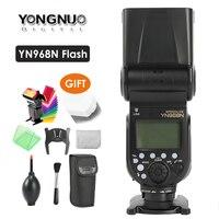 YONGNUO YN968N Беспроводная вспышка Speedlite оснащена светодиодный фонарь YN968 ttl вспышка для Nikon DSLR камеры YN622N YN560 TX RF603