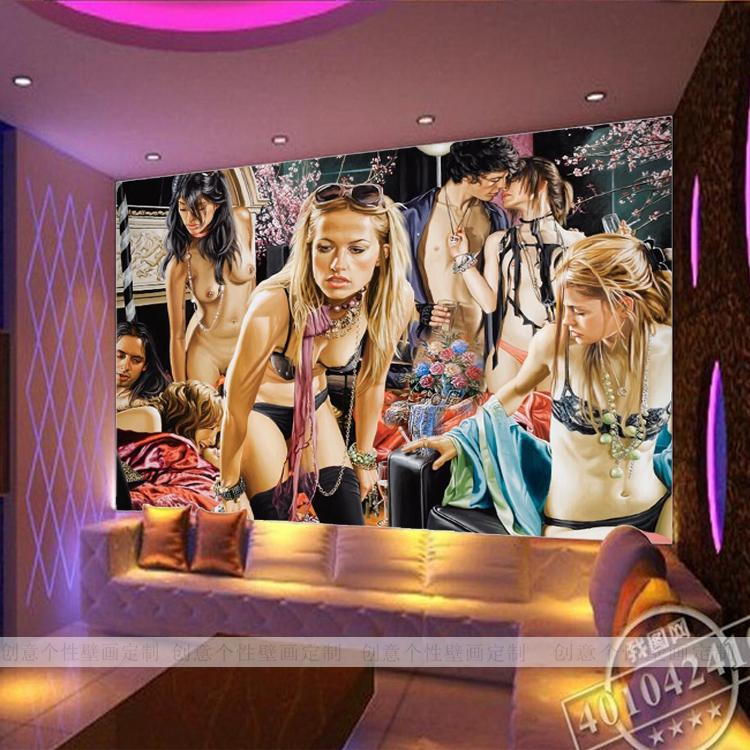3D photo wallpaper 3D stereo KTV wallpaper theme hotel bar ceiling mural wallpaper mural large mural wallpaper wallpaper theme hotel theme hotel bar club star monroe ktv