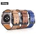 IStrap Высокое Качество 42 мм Натуральной Телячьей Кожи Ремешок Для Apple Watch Замена Браслет Для Iwatch Apple Watch Band 42 мм