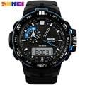 SKMEI 1081 Мужчины Цифровой Dual Time Часы Спортивные Часы Повседневная Открытый Мода Часы Секундомер Хронограф Водонепроницаемые Наручные Часы