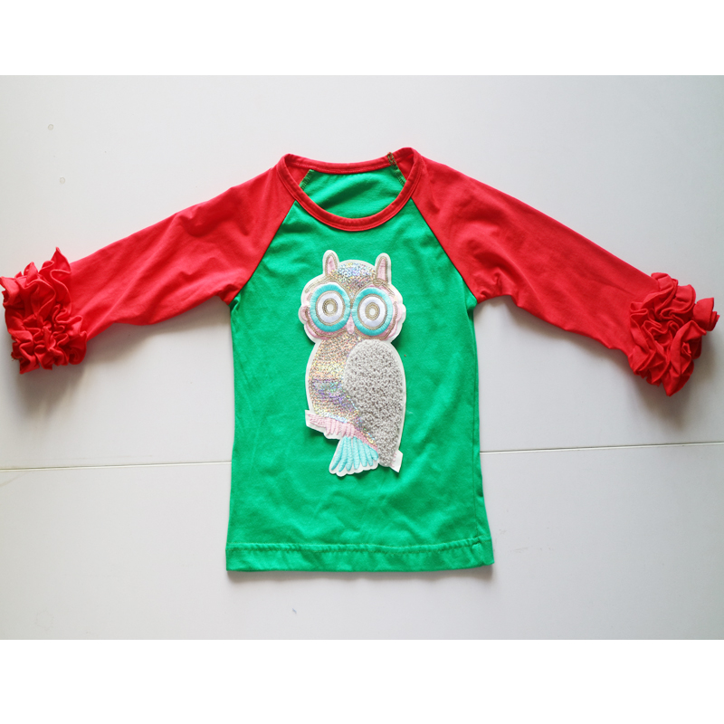 FAMILY Christmas T shirts wholesale ruffle shirts for ...