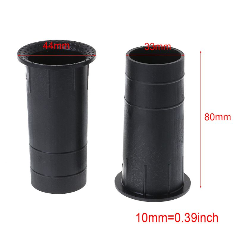 2019 New 2PCS Speaker Port Tube Bass Reflex Vent Connector 3-5