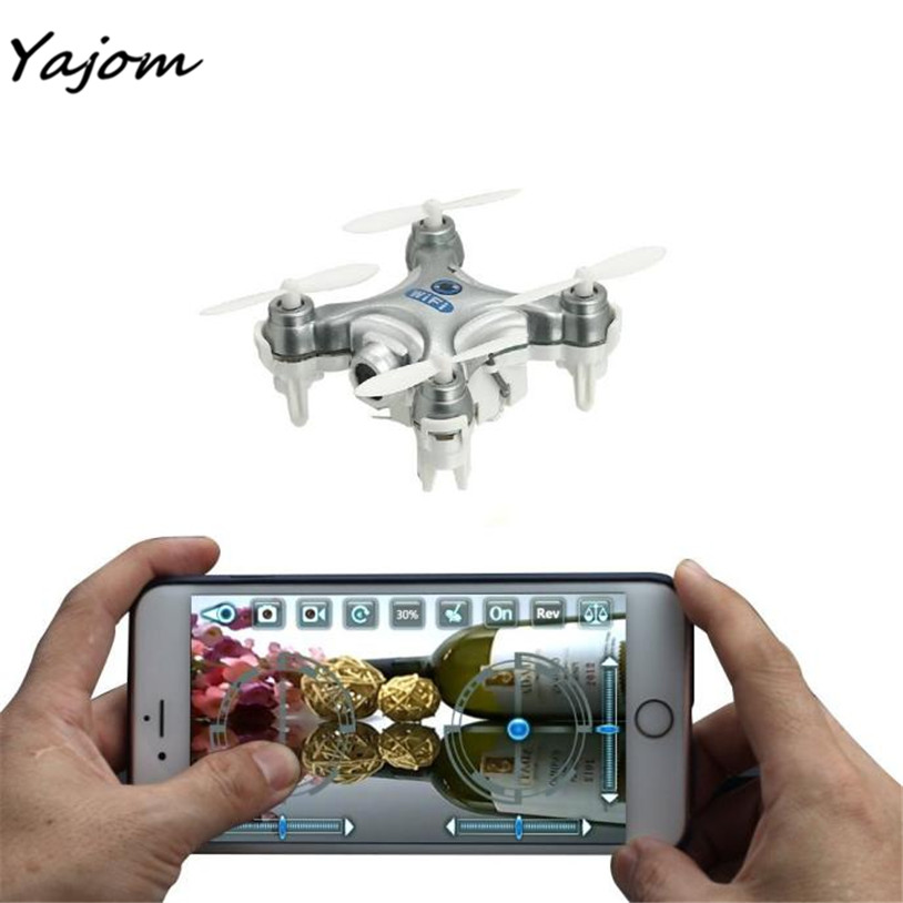 2017 Cheerson CX-10W Mini Wifi FPV With 720P Camera 2.4G 4CH 6 Axis LED RC Quadcopter Brand New High Quality Feb 28