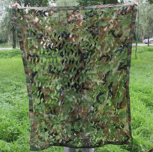 Military 1mx2m Oxford Cloth Jungle Camouflage Net Camo Netting Cover for Outdoor Sports Sun Shelter for Camping Hiking