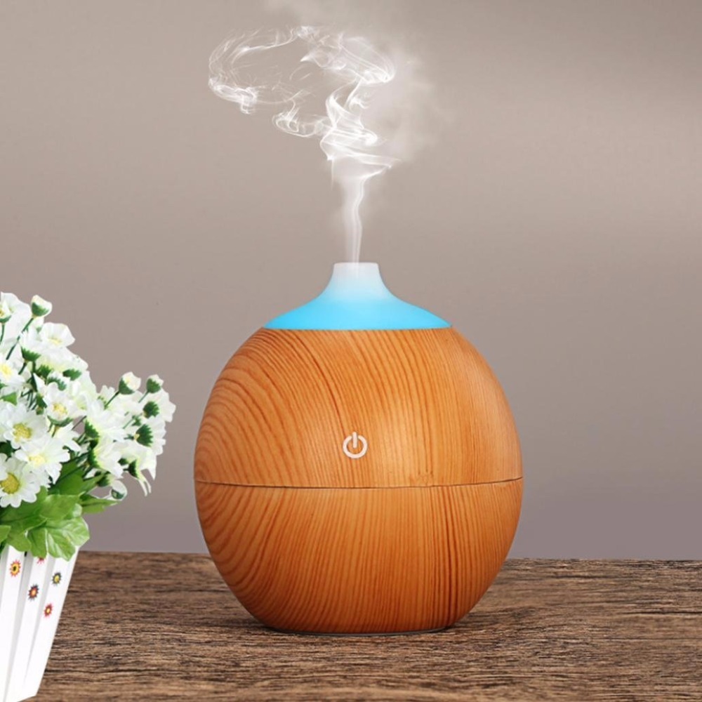USB Aroma Diffuser Ultrasonic Essential Oil Diffuser With 7 LED Light Air Humidifier Mist Maker Aromatherapy Difusor