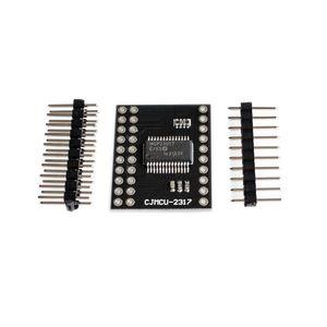 Image 1 - MCP23017 Serial Interface Module IIC I2C SPI MCP23S17 Bidirectional 16 Bit I/O Expander Pins 10Mhz Serial Interface Module
