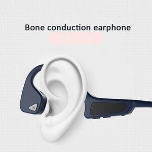 Image 2 - Bone Conduction Headset Wireless Bluetooth 5.0 Wireless Headphones sport Waterproof bluetooth wireless earphones