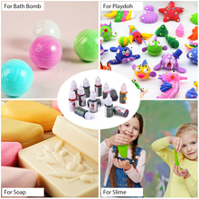 119pcs/set–13 Colors Liquid Soap Dye+6 pcs Bath Bomb Mold+100 pcs Opp Bags Food Grade Liquid Bath Bombs Dye DIY Soap Making Kit