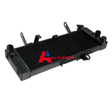 BIG SALE Aluminum radiator FIT SUZUKI SV650N NAKED MODEL K3 K4 TOP SV650 03 04 05 06 07 High Quality Cooling Motorcycle Parts