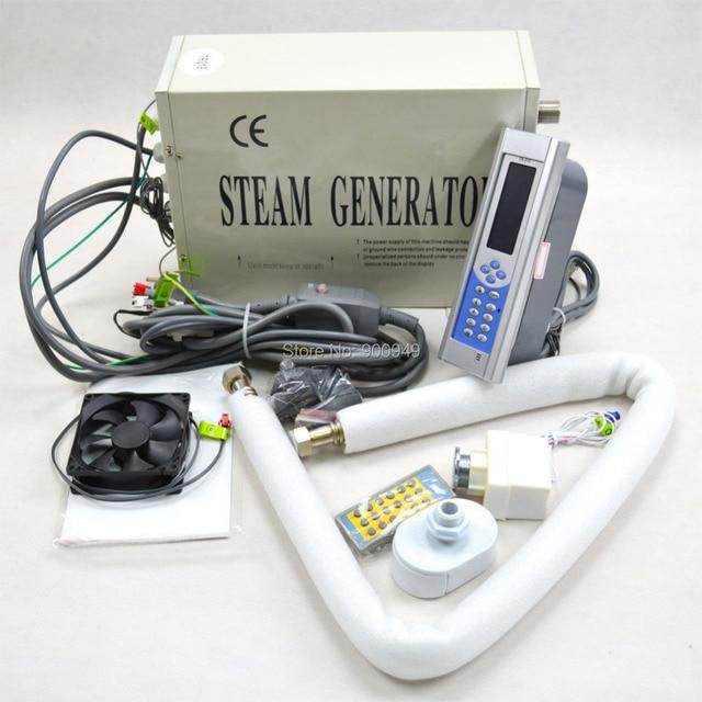 Shower Steam Generator 3kw Sauna Bath Steamer Home Spa Ce