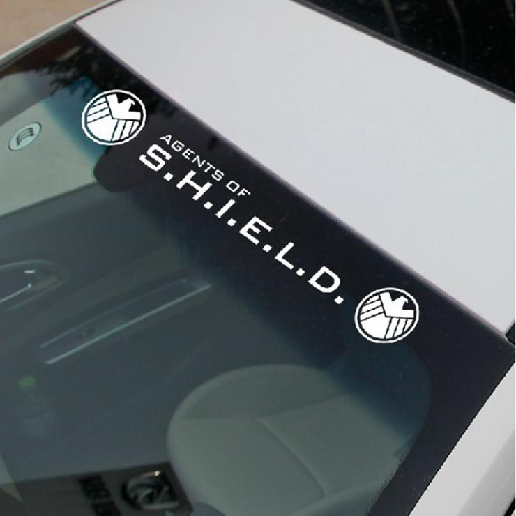 Aliauto Agents of Shield Car styling Reflective Car Front Windowshield window for Toyota Chevrolet cruze vw golf skoda  Kia Lada auto rain shield window visor car window deflector sun visor covers stickers fit for toyota noah voxy 2014 pc 4pcs set