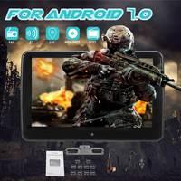 10,1 1024*600 для Android 7,0 подголовник автомобиля монитор DVD проигрыватель USB/SD/HDMI/fm LCD Экран сенсорная кнопка игровой пульт Управление