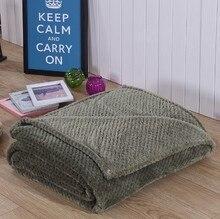 CAMMITEVER kalın battaniye kanepe için ev tekstili polar battaniye sıcak yumuşak atmak kanepe/yatak/uçak/seyahat yatak örtüsü yatak
