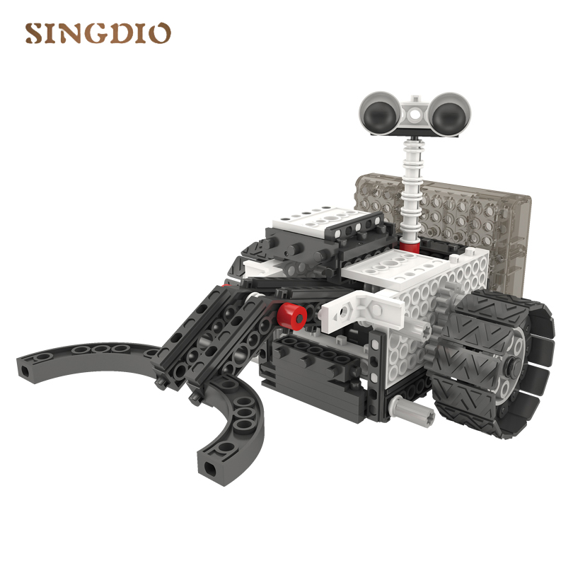 2018 New products 4 in 1 Space Exploration Set remote control Building Blocks toy Beneficial wisdom education toys for children