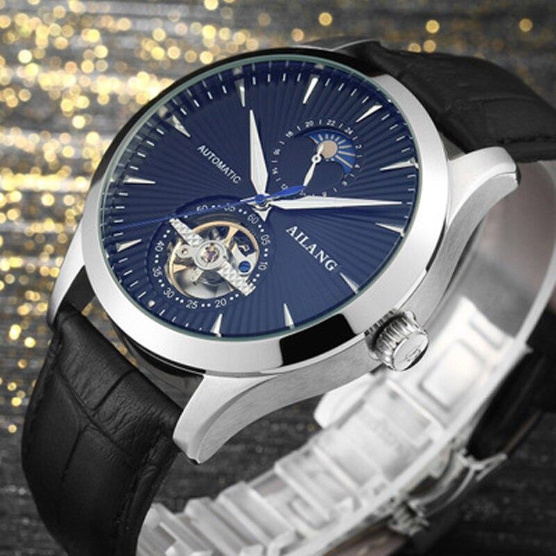 Marca de lujo ailang hombres Relojes automáticos Relojes Tourbillon - Relojes para hombres - foto 5