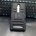 Ao ar livre Homem Estilo Heavy Duty Armadura de Silicone Caso Protetor de Telefone Para asus zenfone 2 ze551ml/ze550ml voltar cubra com clipe para cinto