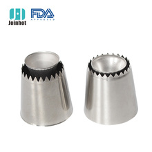 2PCS  new arrival sulta ne ring cookies mold piping nozzles russian icing set drop shipping