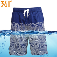 hot deal buy 361 men board shorts bathing quick dry beach shorts sports mens surf pants swim trunks boxer swimming shorts male swimwear