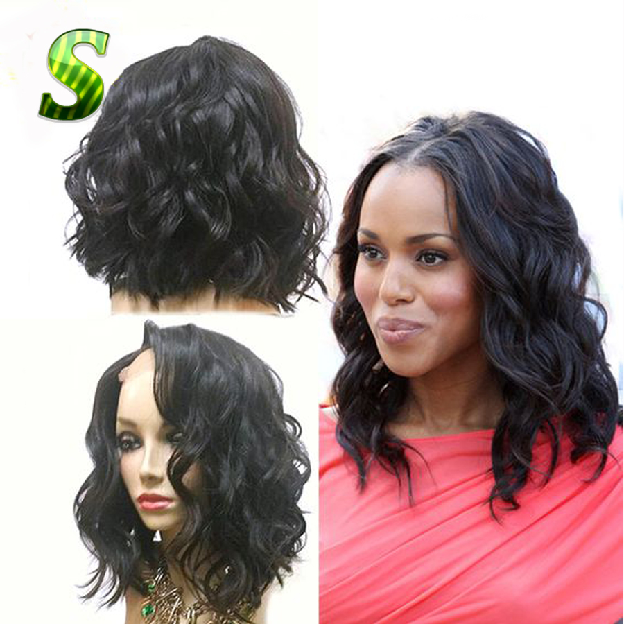 Brazilian Virgin Hair Wig Natural Wave Full Lace Wigs