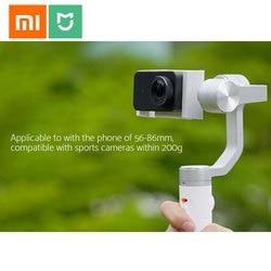 Oryginalny Xiaomi Mijia SJYT01FM 3-Axis Handheld stabilizator gimbal w 5000mAh baterii przez aparat działań sportowych i telefon Mix 2 2S 4