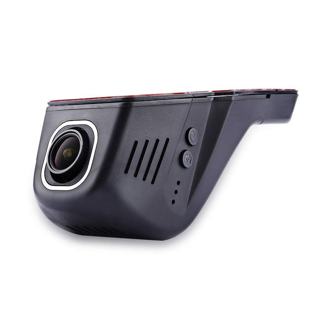 Portable WiFi Intelligent Car Data Recorder Loop Video Six Optical Lens 1.9 Aperture 24-hour Parking Monitoring System