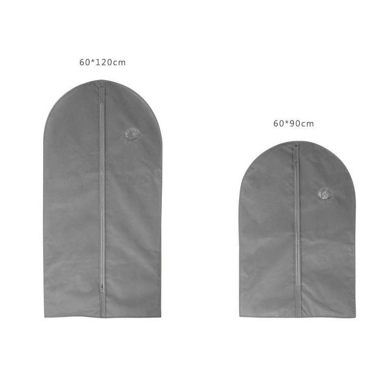 Clothes Dust Cover with Zipper Storage Bag Garment Costume Protector Suit Case Home Organizer Non woven Craft 1pcs AC016-in Clothing Covers from Home & Garden