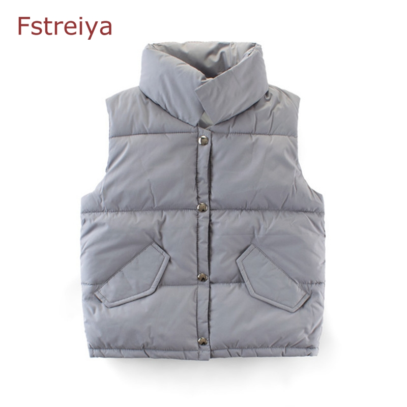 baby girl winter knitted vest coat 2019 clothes boys cotton waistcoat children outerwear kids gilet Teenage girl weate top