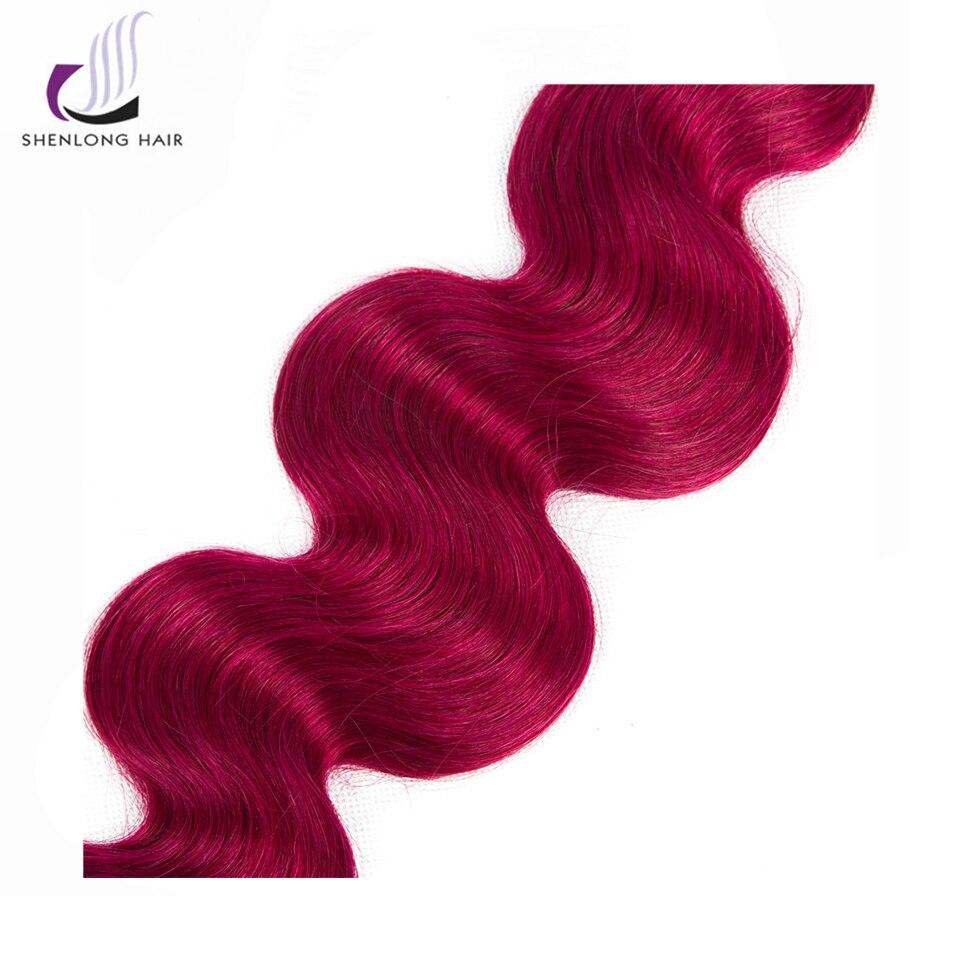 SHENLONG HAIR 1Pc 8-24 ίντσες # 1B / Bug Μαλαισιανό - Ανθρώπινα μαλλιά (για μαύρο) - Φωτογραφία 5