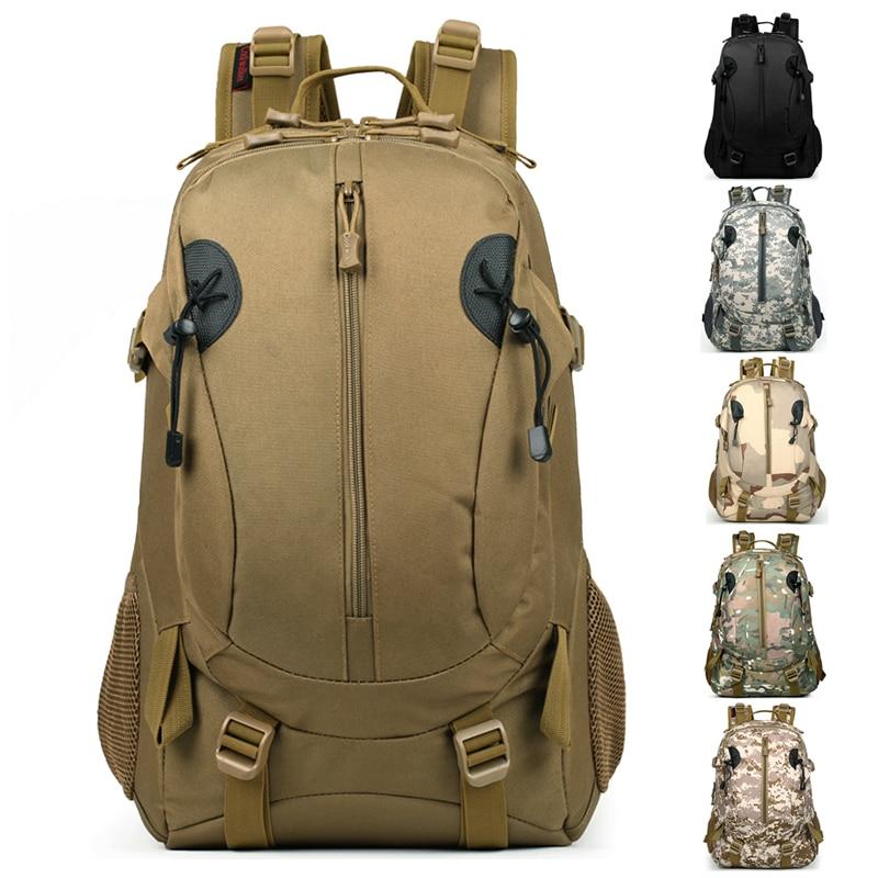 Luar Angkatan Taktikal Peminat Perkhemahan Tentera Memanjat kalis air Beg Sukan Beg Backpack Beg Hiking Kembali Pek Kapasiti Besar