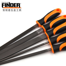 FINDER 200mm/ 8  Files Multi-function Carbon Steel Triangular, Square, Round, Half Flat Wood Metal Set
