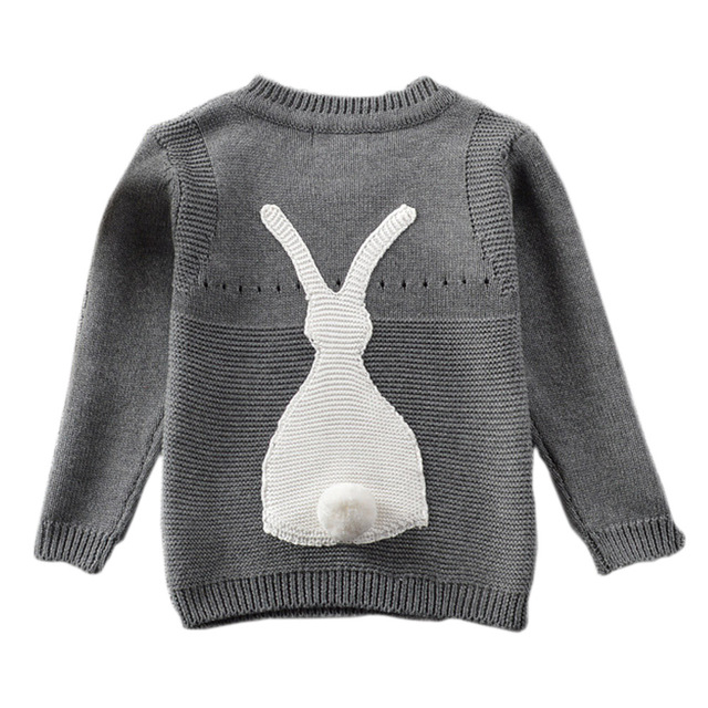 37b3fa7bf Definitely Cute 3D Rabbit Long sleeve Small Kids Pullover Winter ...