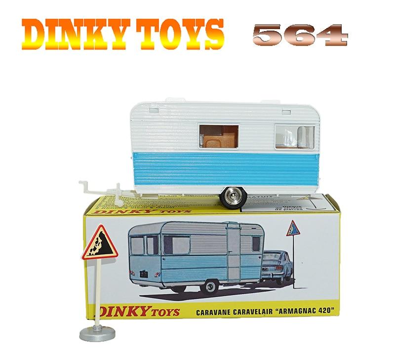 все цены на Atlas 1:43 Super Dinky Toys 564 CARAVANE CARAUELAIR ARMAGNAC 420 Alloy Diecast Car model & Toys Model Collection