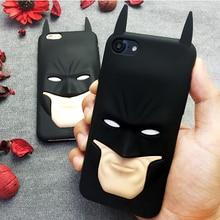 3D Superhero Batman Silicon Rubber Phone Case Cover for iPhone
