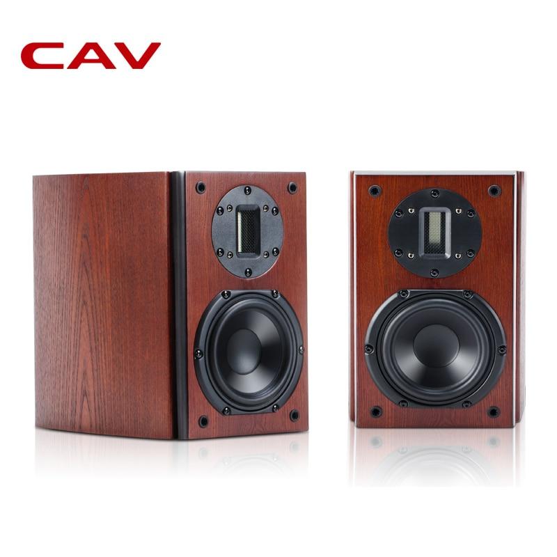 CAV HiFI High End Bookshelf Speaker Wood Veneer Finished FL-21
