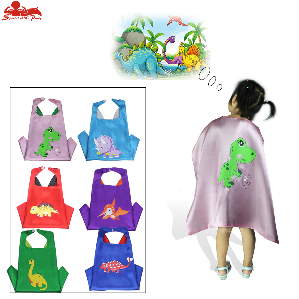 New SPECIAL L 27 Dinosaur Cape Costume Animal masks for kids birthday party Halloween Dino Costume