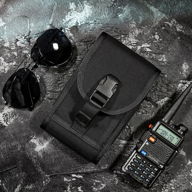 Onetigris Phone-Pouch MOLLE Tactical Hunting-Waist-Bag for X Protective 7