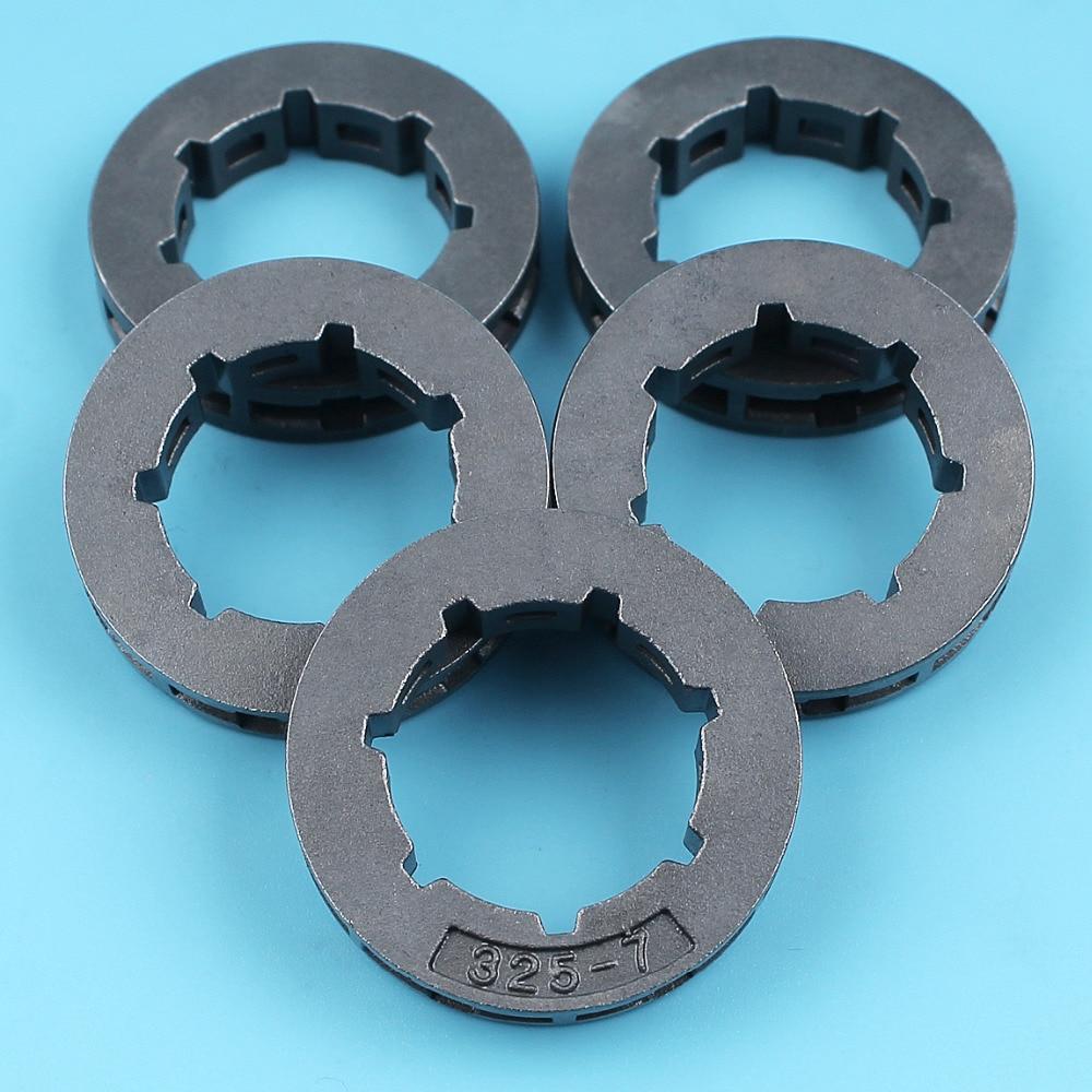 5 Chainsaw Rim Sprocket .325-7T For Jonsered 450 455 510 520 525 535 540 2051 2054 Husqvarna 50 51 55 Rancher 154 254 XP 257 262