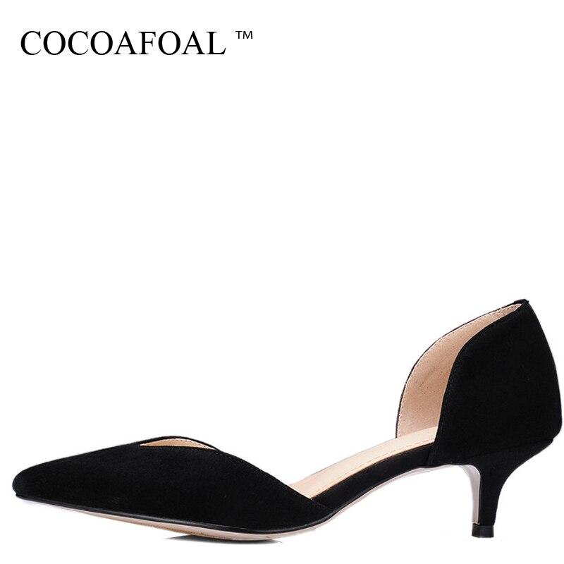 Alto Tacón Más De Moda 2018 gris Sexy Negro rojo Bomba Tamaño 33 Verano 43 Zapatos azul Bola Cocoafoal Mujer Fiesta qxnA1x