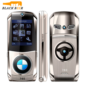 """Image 1 - Mosthink W760, teléfono móvil con tapa, tarjetas SIM duales, 1,77 """", Mini cuerpo de Metal, cámara estilo coche, botón de núcleo único, teléfono con teclado ruso"""