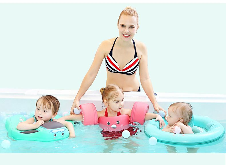 Baby Swimming Ring Solid No Inflatable Safety For accessories floating Floats Swimming Pool Toys (12)