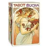 100% Original Full English Mucha Tarot cards deck Divination board game